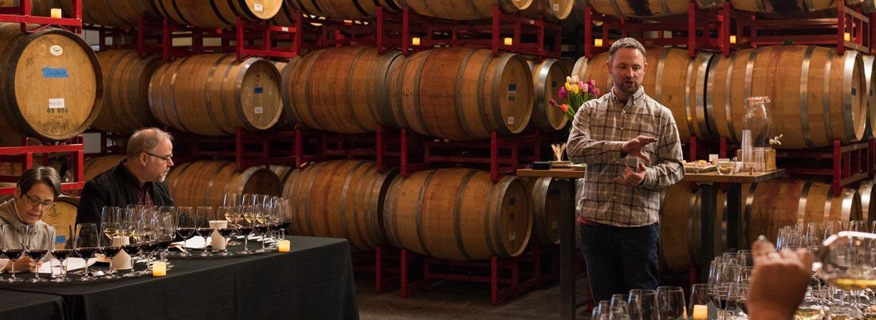 Linn Scott mega wine tasting